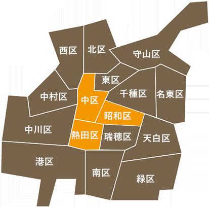 金山・東別院・鶴舞