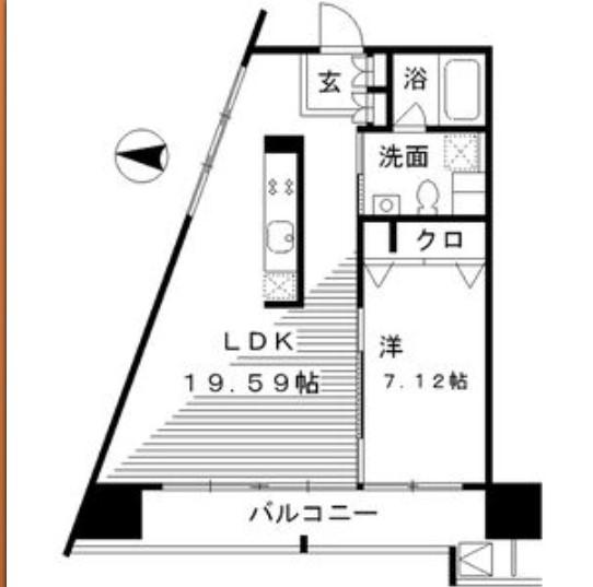 レジディア東桜Ⅱ Itype-14